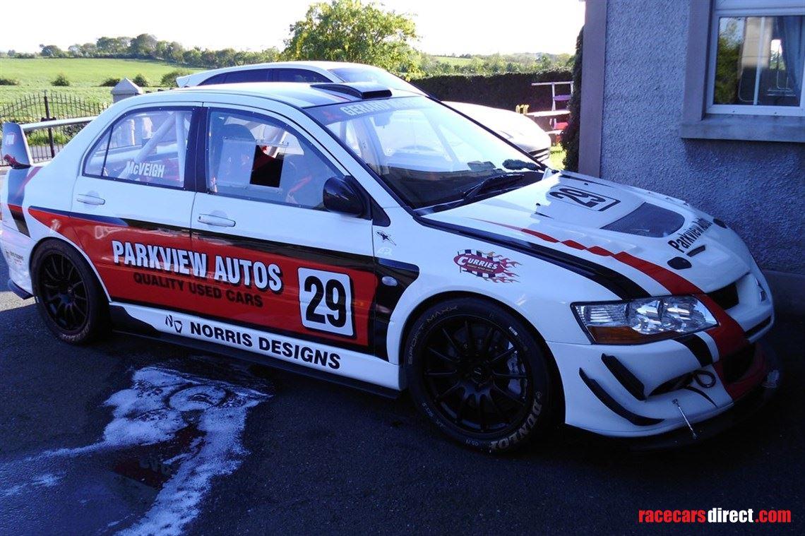 Racecarsdirect.com - MITSUBISHI EVO V111 MR RACE CAR (600BHP) 7k ...