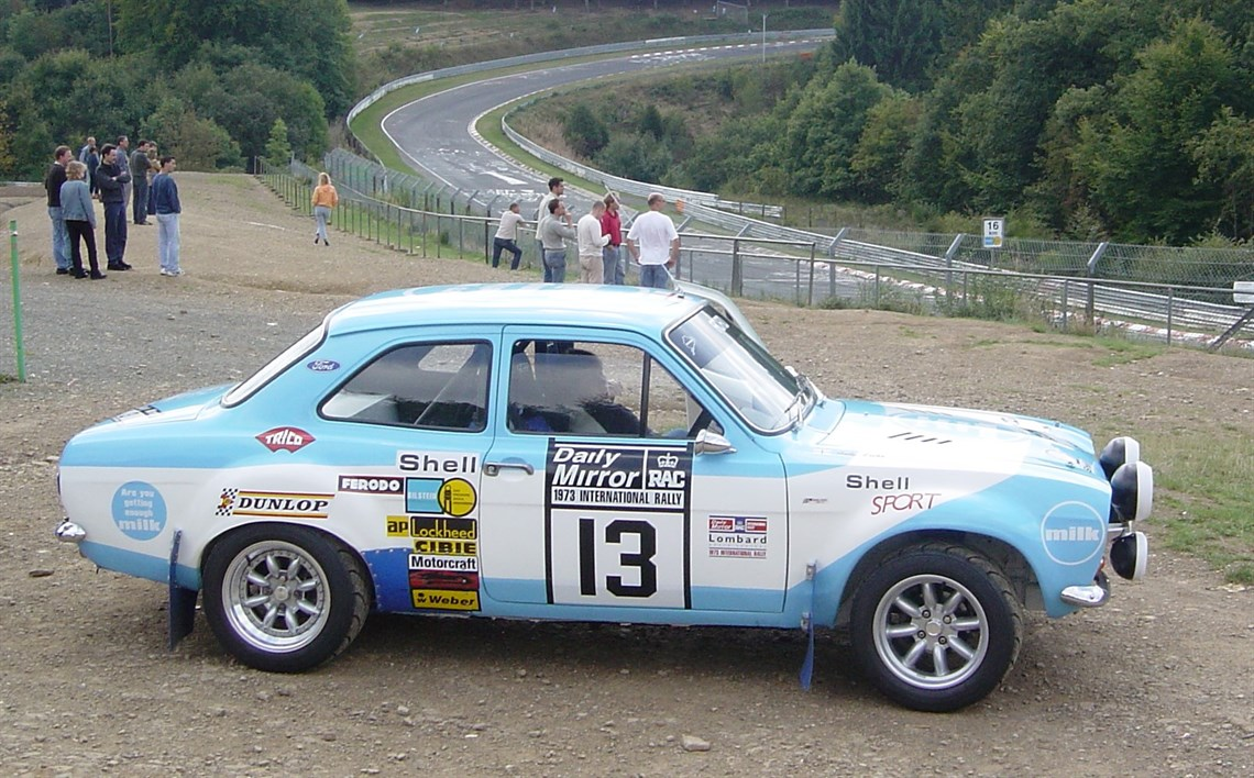Racecarsdirect.com - 1971 Ford Escort MK1 Mexico \