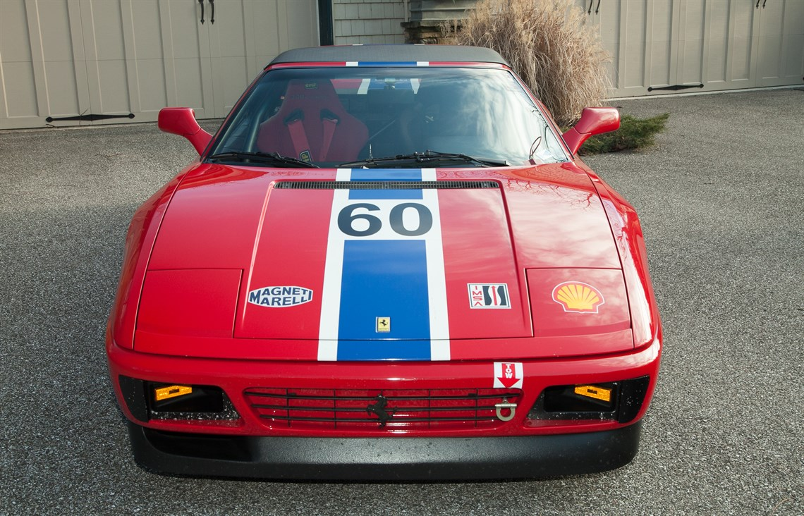 racecarsdirect - 1990 ferrari 348 ts challenge car