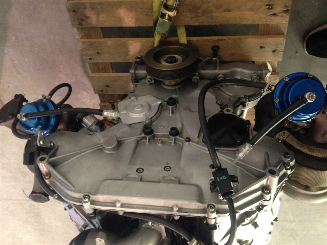 Racecarsdirect com - Bi-turbo Nissan 350z Engine ( VQ35DE)