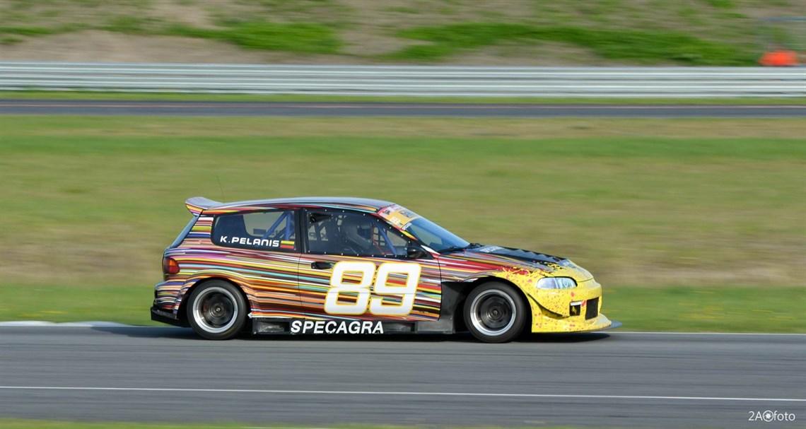Honda Civic Eg K20 Racecar