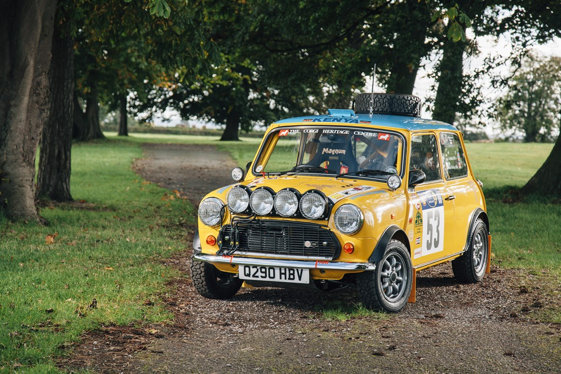 Racecarsdirect.com - 1995 Mini Cooper Safari Rally Car