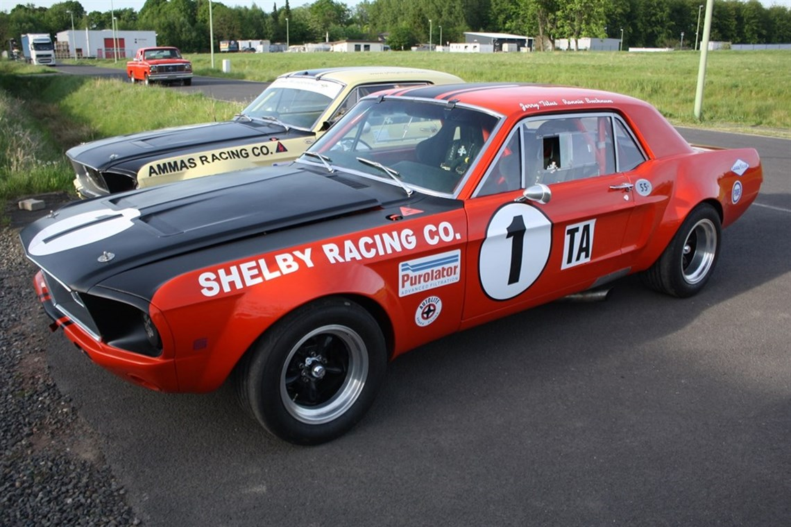 Racecarsdirect.com - 1968 Ford Mustang Trans Am 302