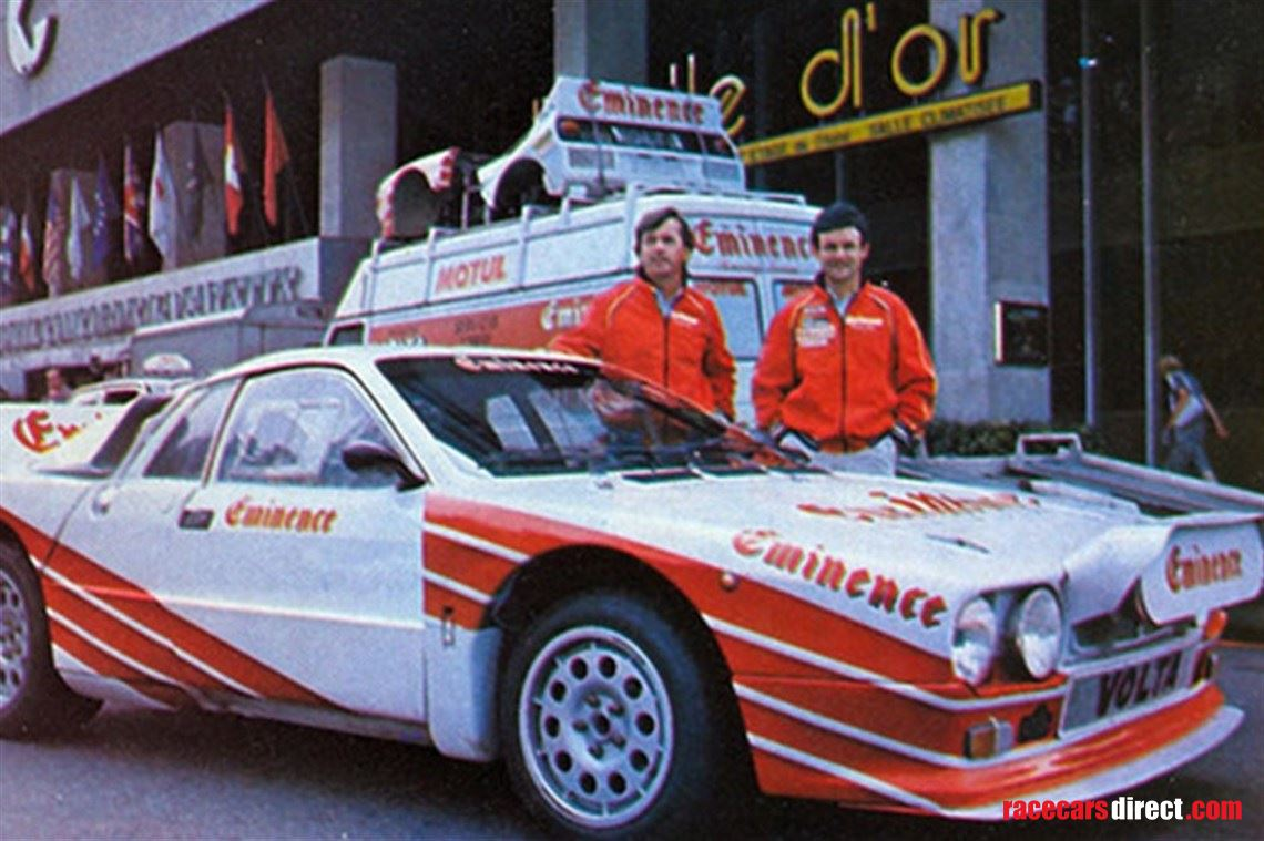 Racecarsdirect.com - 1983 Lancia 037 Group B EVO 2 EMINENCE TO-Y75887