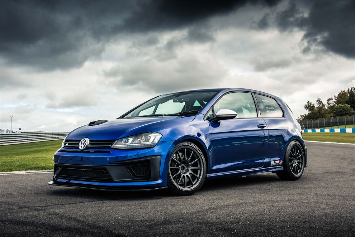 Volkswagen Golf Mk7 R Dsg Race Car