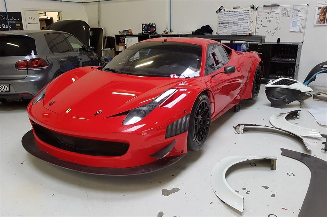 racecarsdirect 458 challange gt3