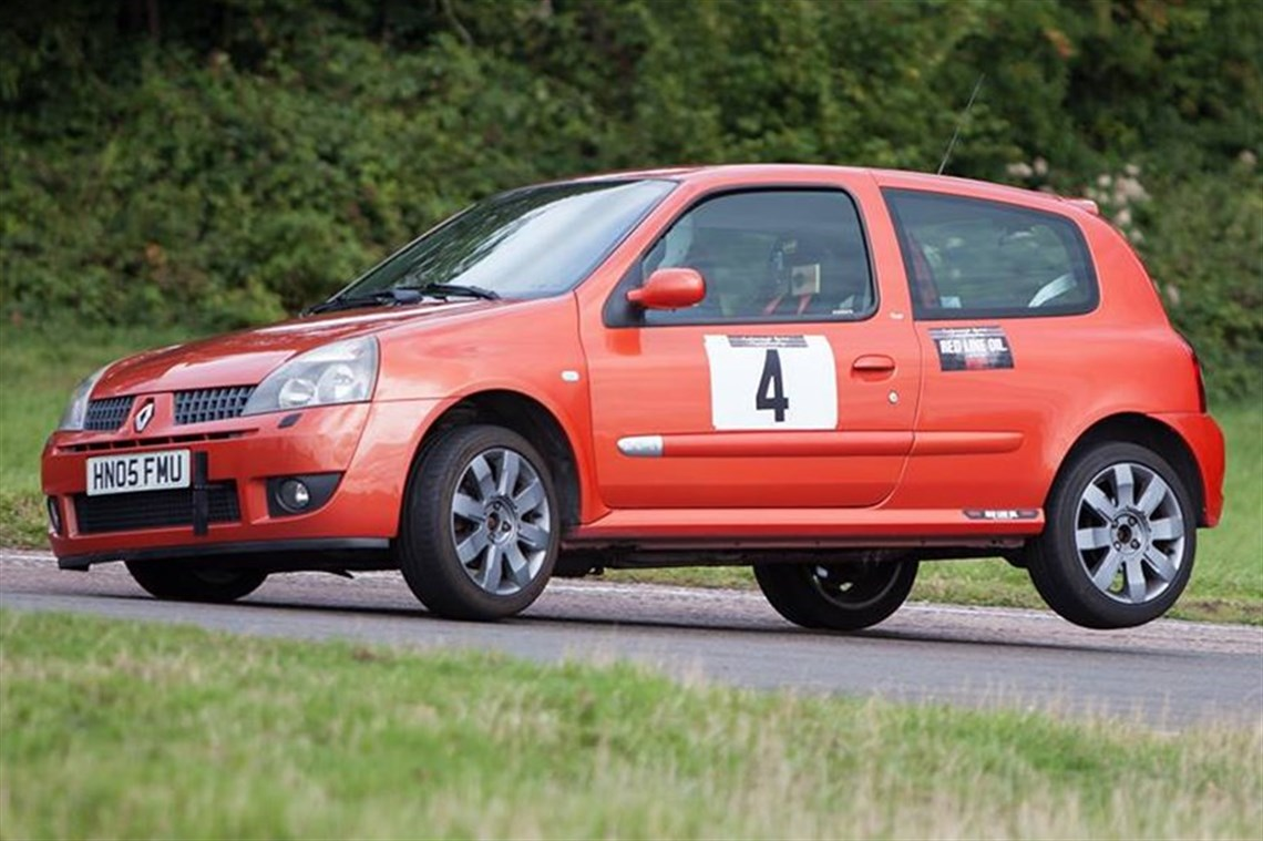 Racecarsdirect Com 2005 Renaultsport Clio 182 Cup Sprint Hillclimb Car