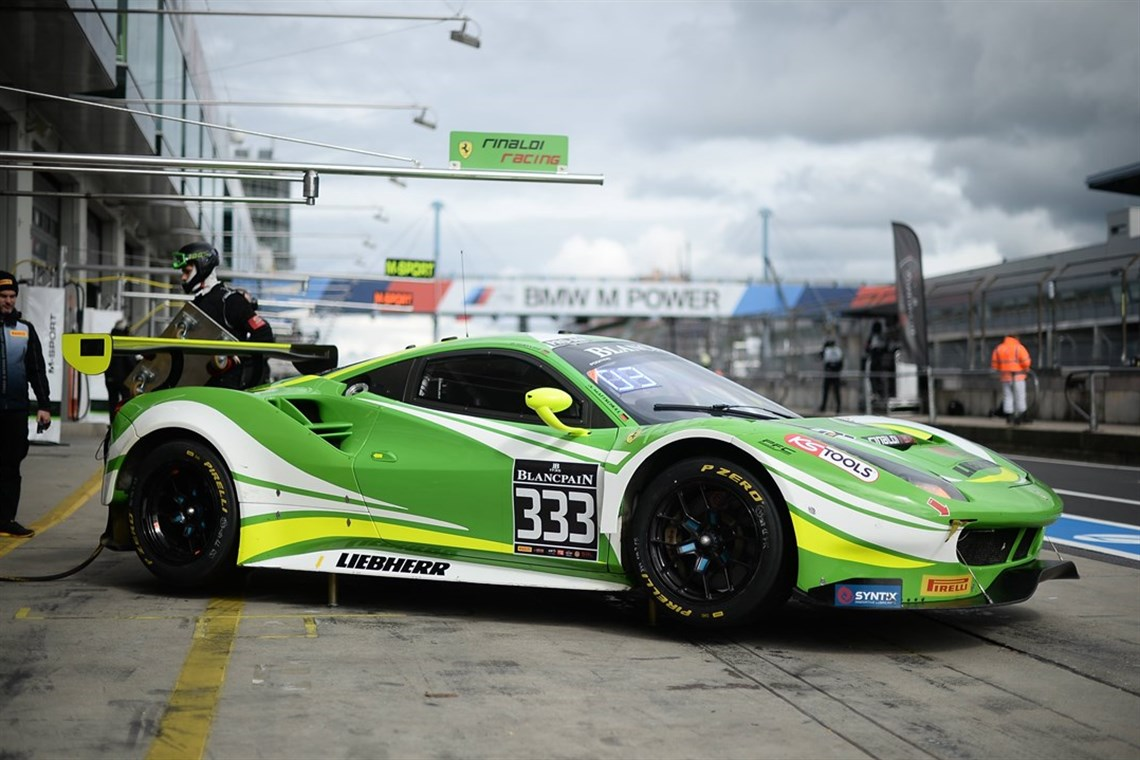 Racecarsdirect.com - Ferrari 488 GT3 from 2017 for Sale