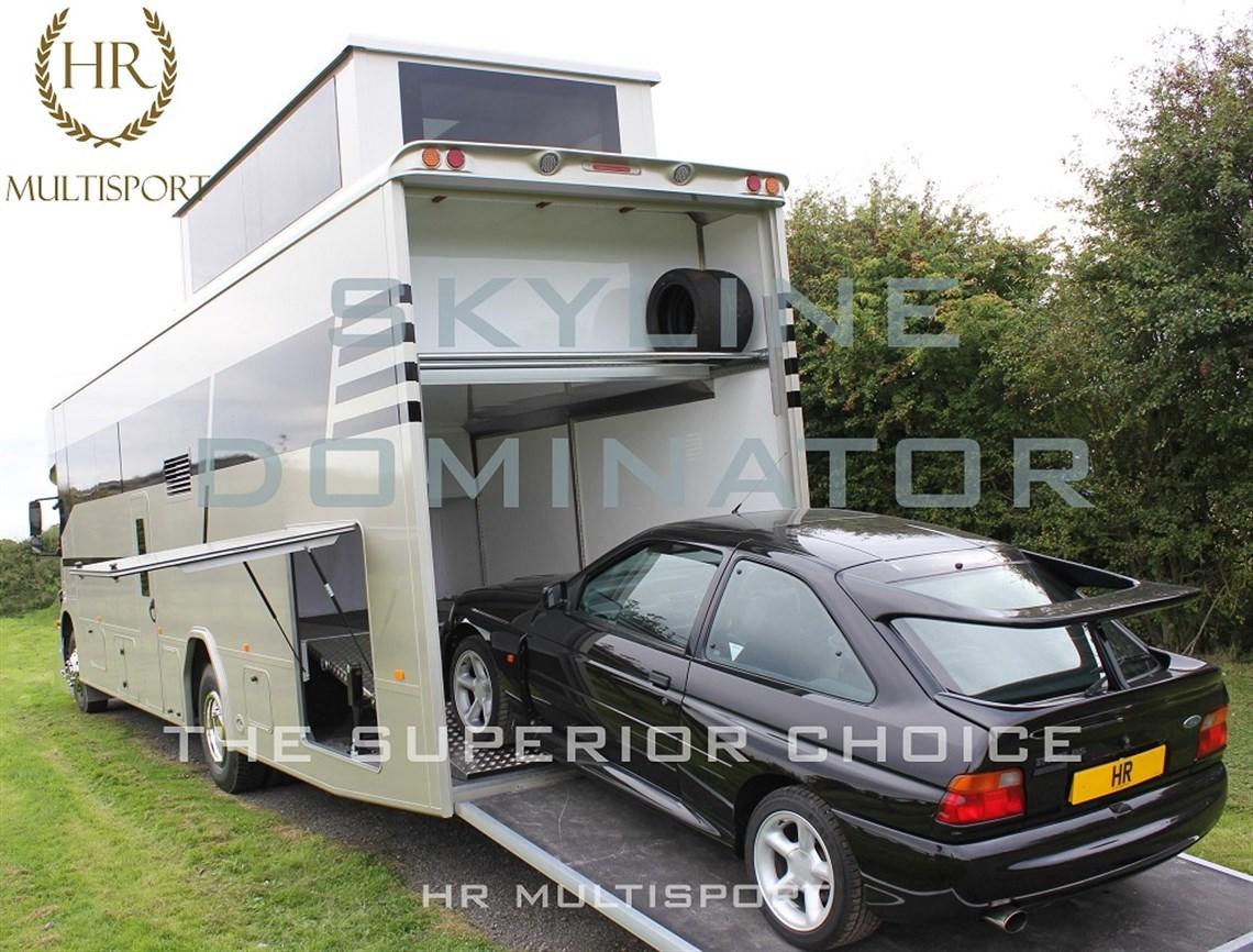 Skyline dominator with slide out for Garage motorhomes