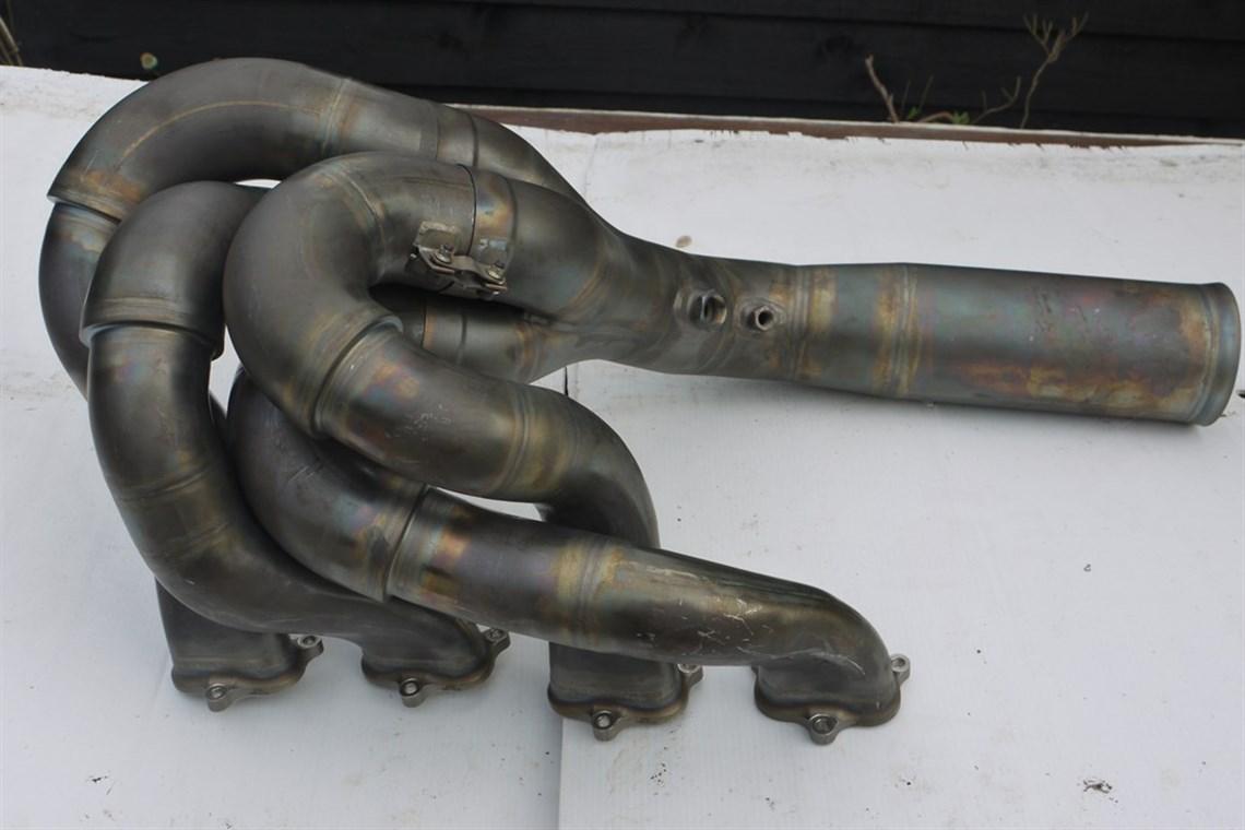 Racecarsdirect com - 2008 Honda - Jenson Button Exhaust Bank
