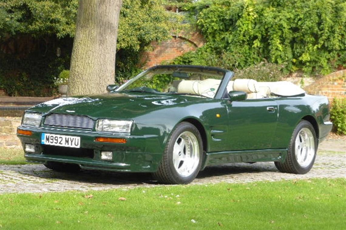 Racecarsdirectcom Aston Martin Virage Volante Wide Bodied - Aston martin virage coupe