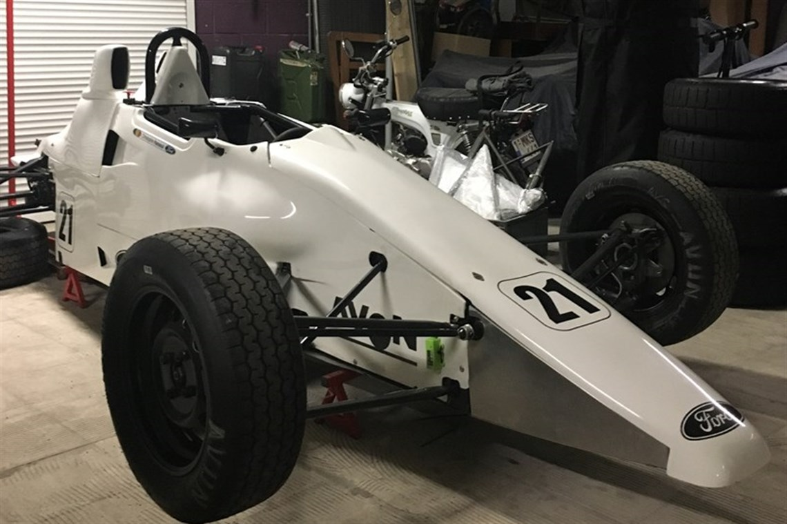 Racecarsdirect.com - Van Diemen RF 1990 Formula Ford for sale