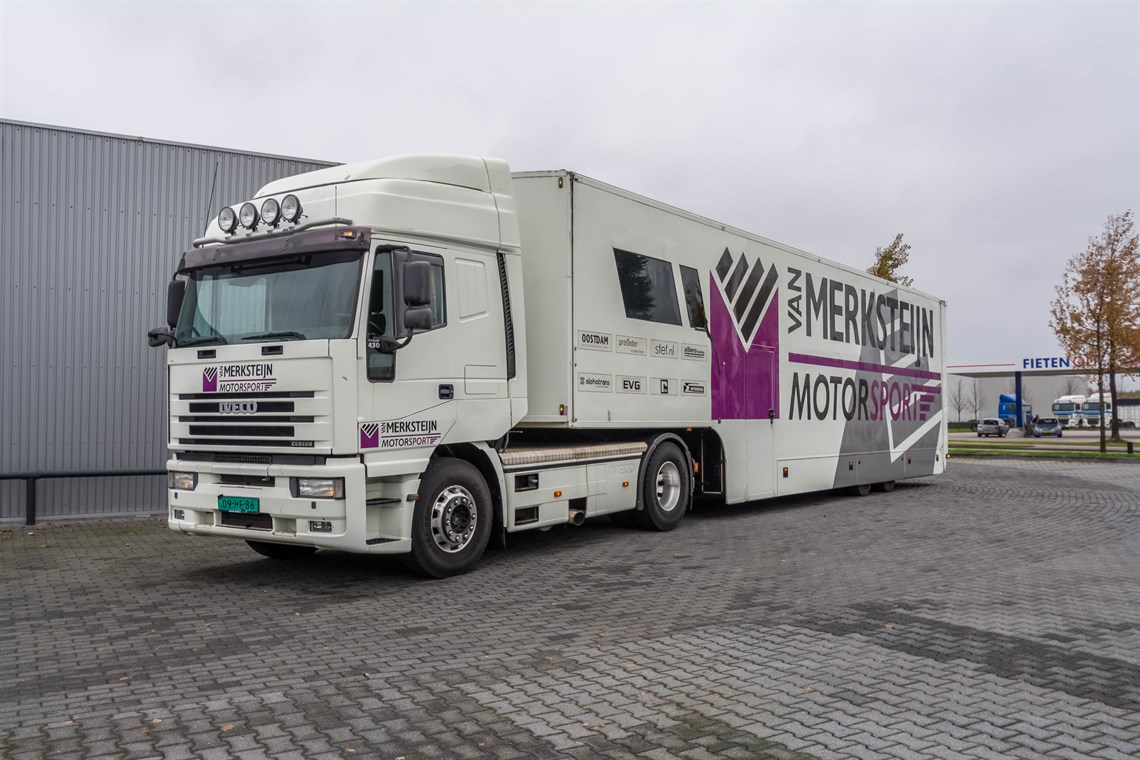 Racecarsdirect.com - Iveco truck and race trailer with 2 ...