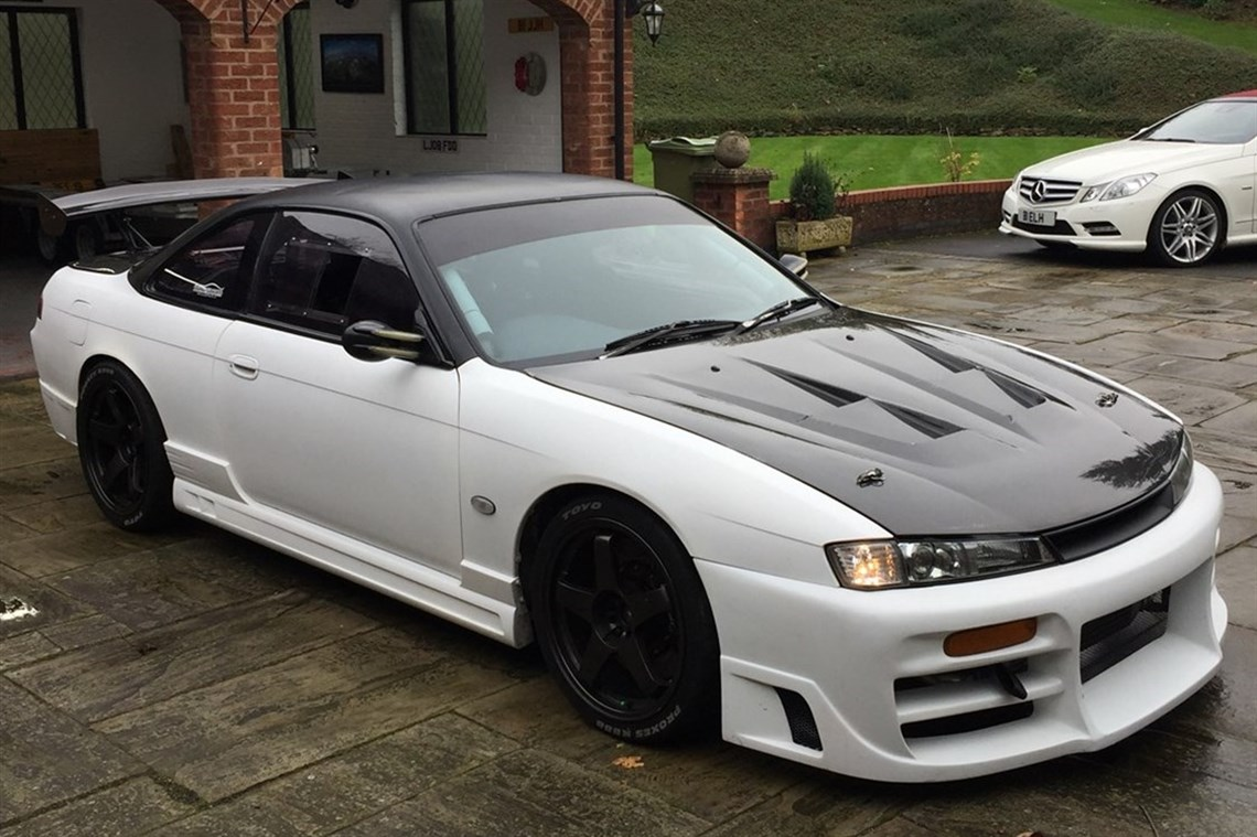 REDUCED Nissan 200SX S14a With Ifor Williams Trailer.