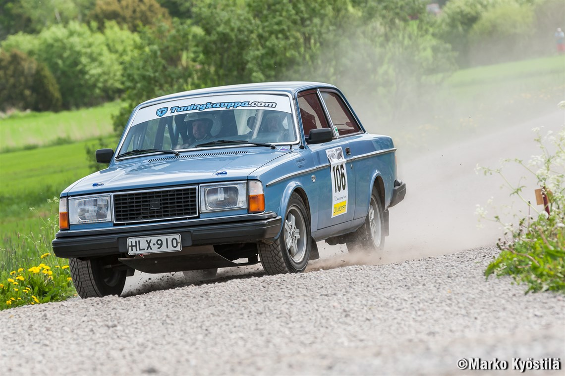 Racecarsdirect.com - VOLVO 242 DL – HISTORIC G2 RALLY CAR