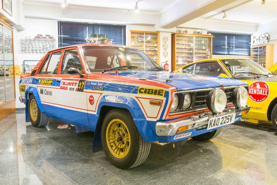 Racecarsdirect.com - 1979 Datsun Stanza PA-10 Nissan Ex-Works Rally Car