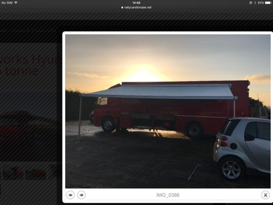 Racecarsdirect.com - Daf 17.5 tonne service truck