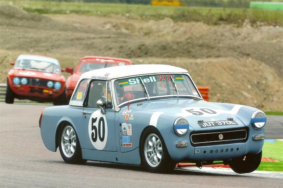 Safe answer mg midget racing parts