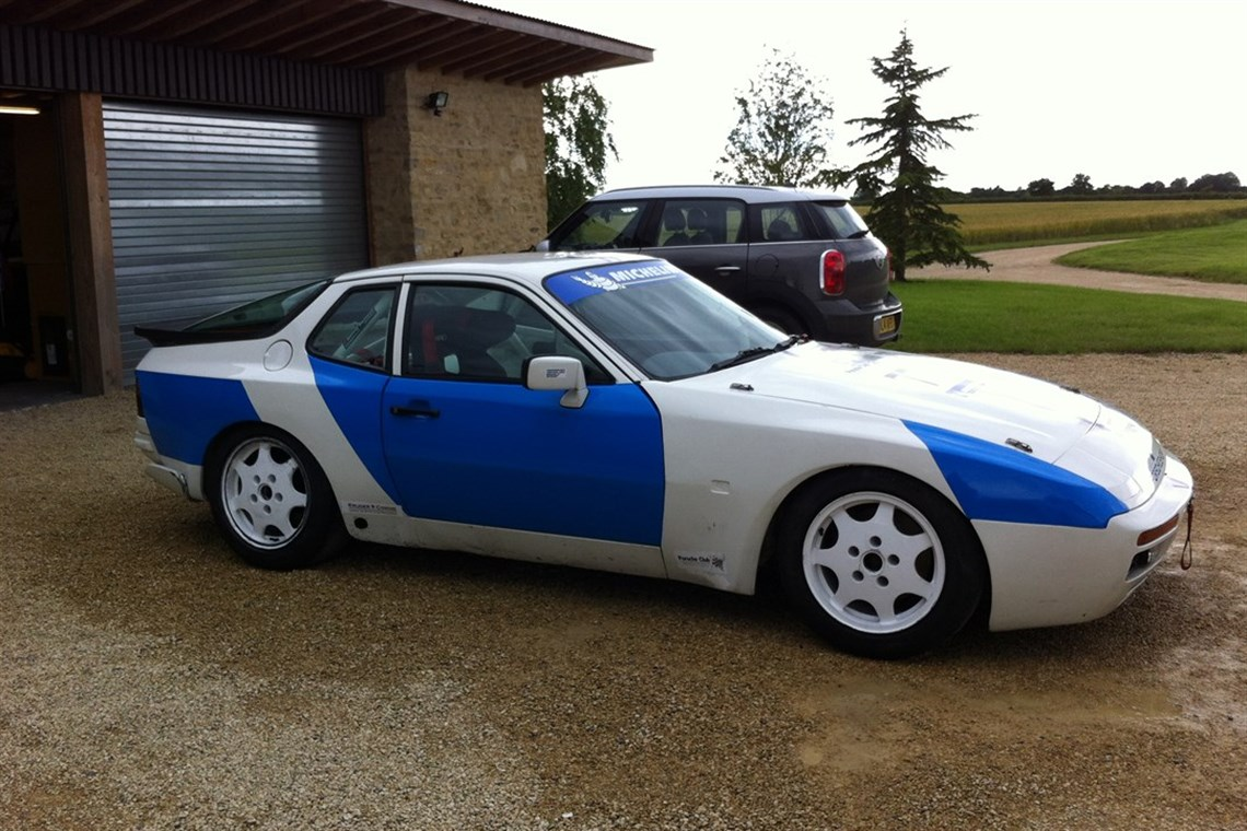 Track A Car: Porsche 944S2 Race Car Track Car