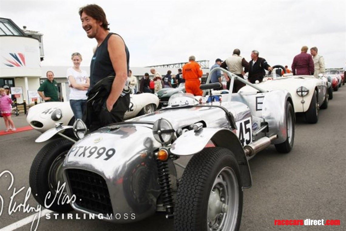 Chris Rea at Silverstone 2012