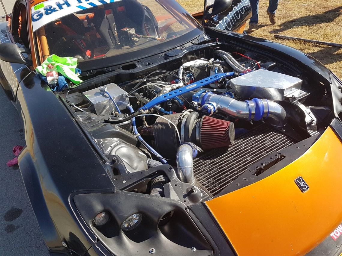 Racecarsdirect com - Veilside mazda RX7 3 Rotor Turbo
