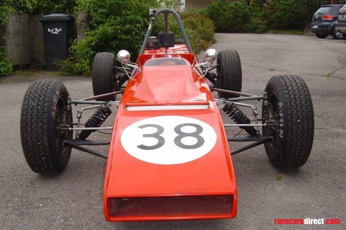 Racecarsdirect.com - 1971 KVANTTI Mk 1 HISTORIC FORMULA FORD 1600