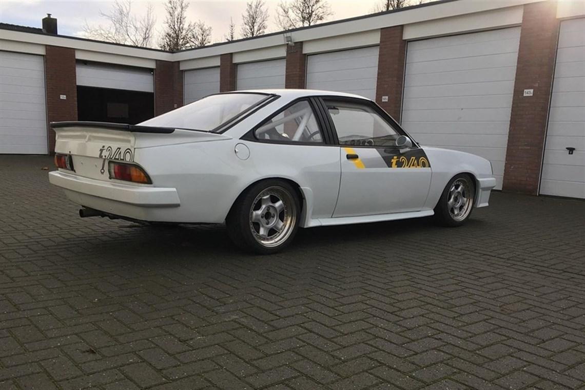 Racecarsdirect com - Opel Manta 240i Historic Racer
