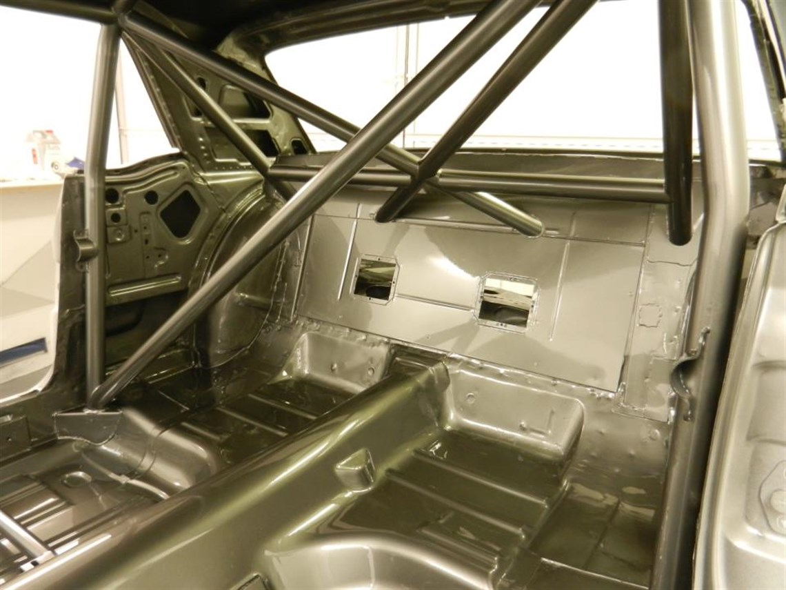FIA T45 Roll Cage, firewall etc.