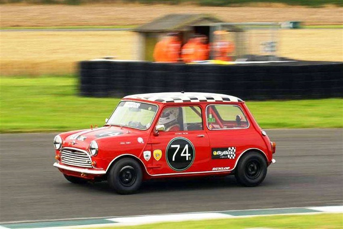 Racecarsdirect.com - FIA Morris Mini Cooper S race car