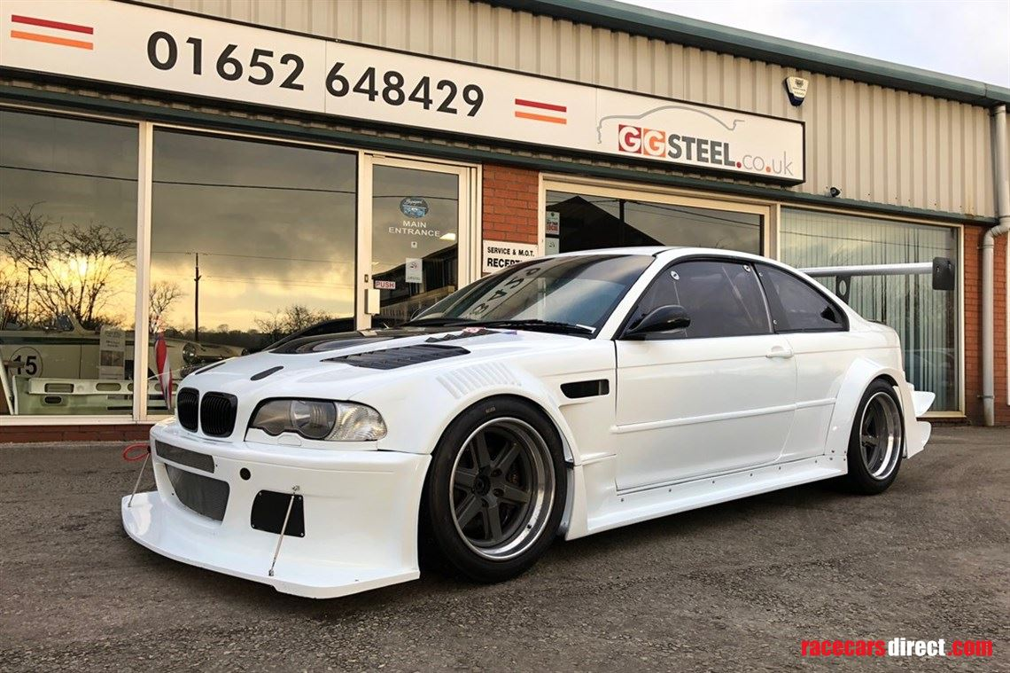 Racecarsdirect Com Bmw E46 Csl M3 Gtr 450 Bhp Drenth For Sale Or Hire