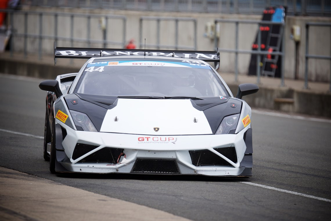 Racecarsdirect Com Lamborghini Gallardo Super Trofeo Available In