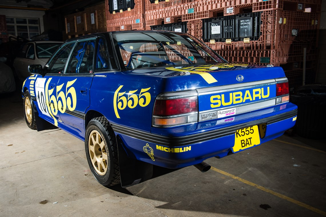 Racecarsdirect.com - 1993 Subaru Legacy RS Group A Ex-Prodrive Rally Car