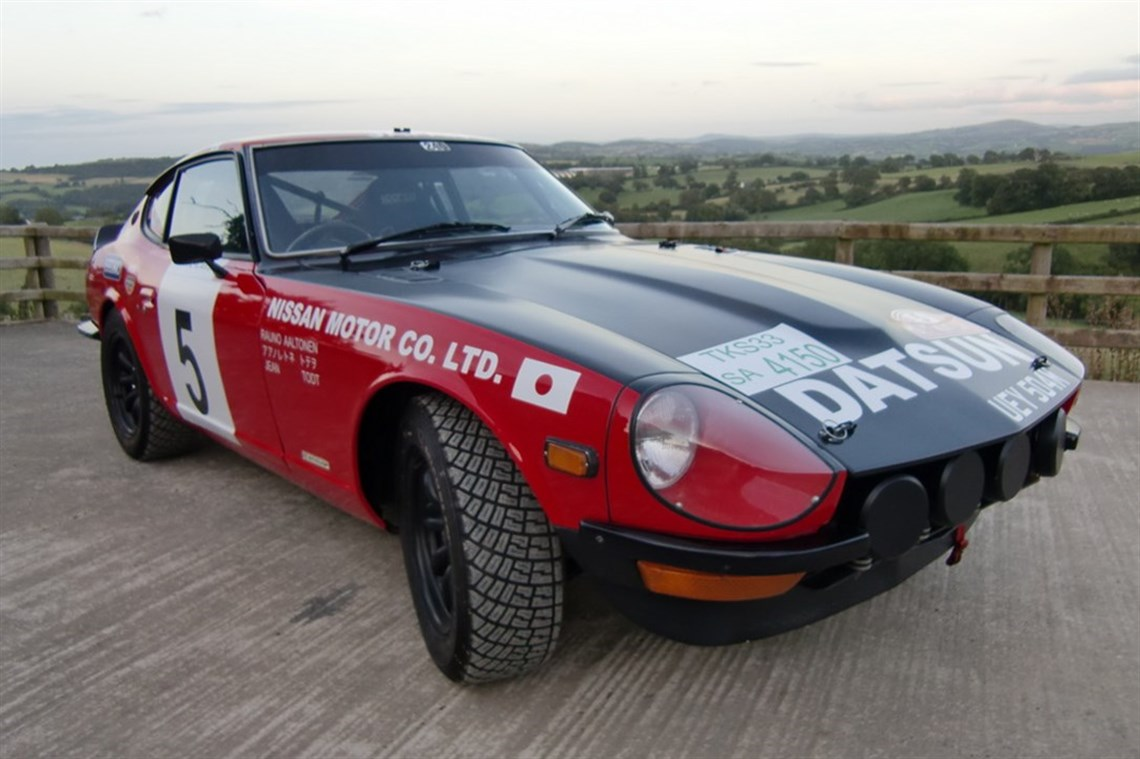 Racecarsdirect.com - 1972 Datsun 240Z (2.8ltr) Club Rally Car