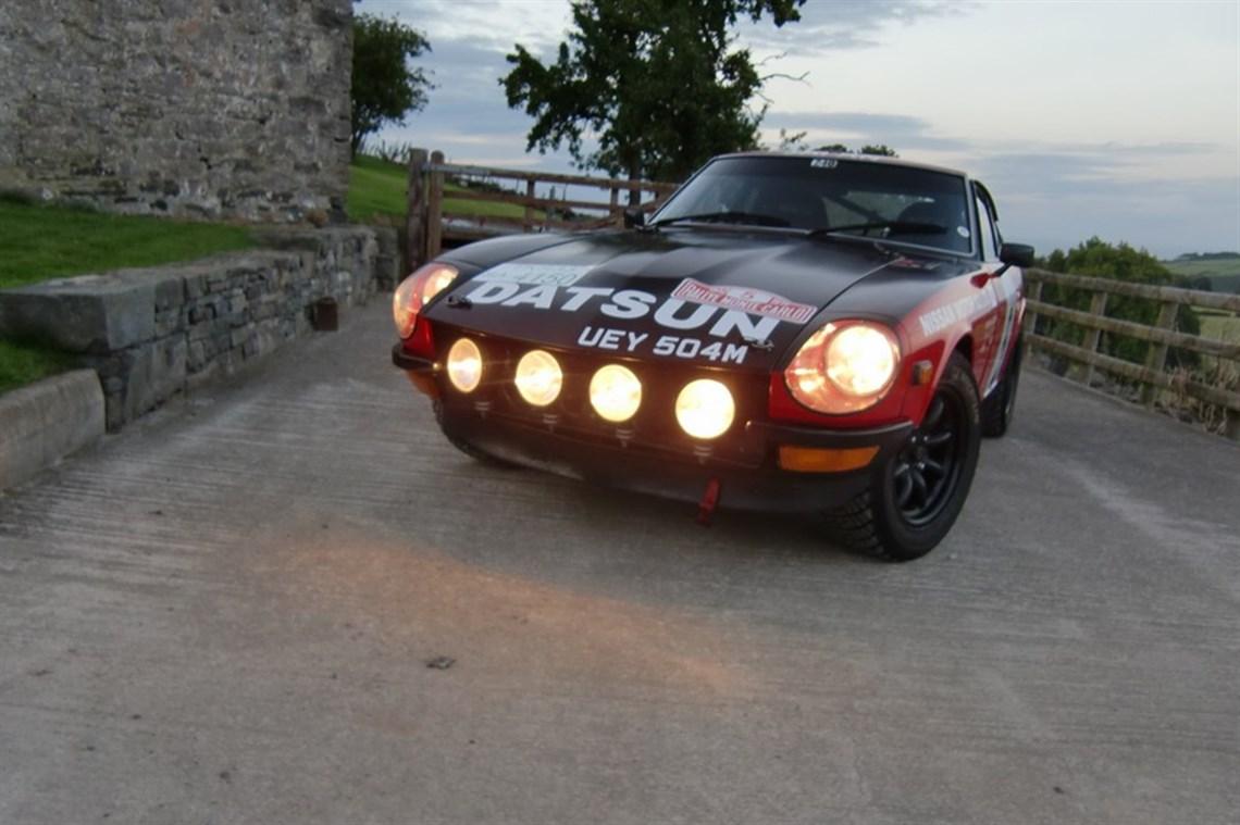 Racecarsdirect.com - 1972 Datsun 240Z (2.8ltr) Club Rally Car