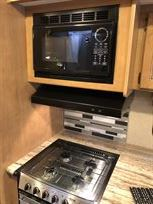Microwave and Hob