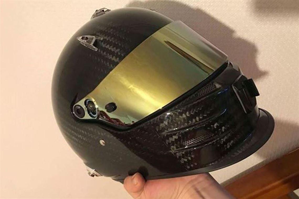 Racecarsdirect Com Bell Gp3 Carbon Fibre Helmet
