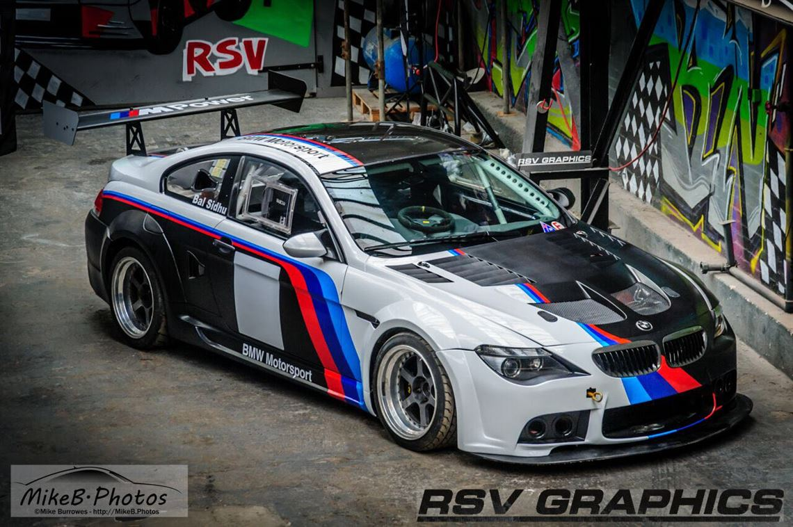 Racecarsdirect Com Bmw M6 V10 E63 Wide Body Race Car