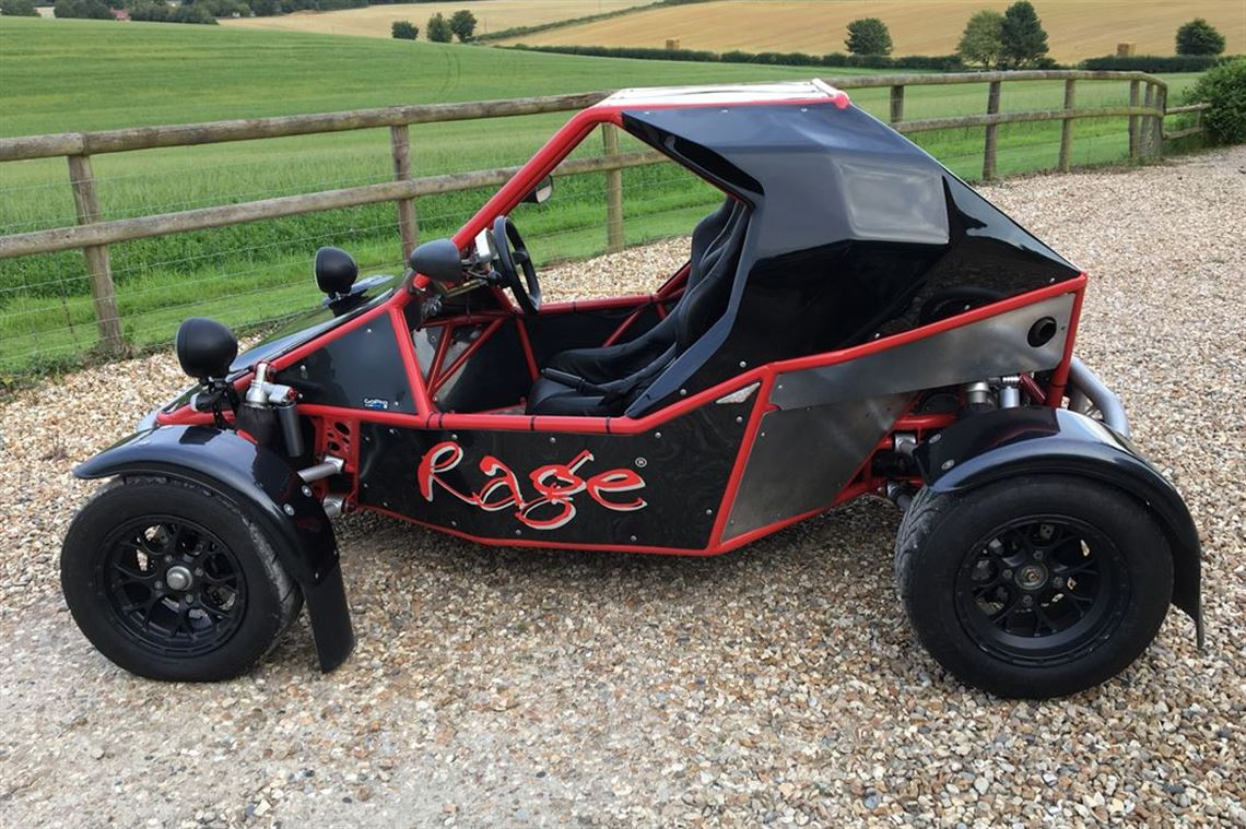 Rage R180rt Road Legal Factory Built Super