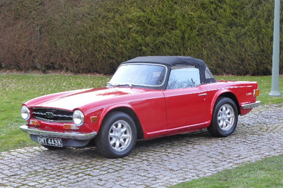 triumph tr6 specifications of gallery