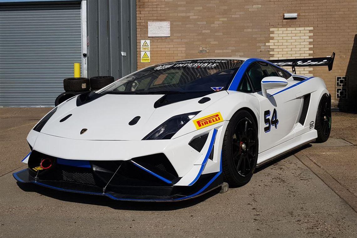 Racecarsdirect Com Lamborghini Gallardo Gtr Supertrofeo Lp570 4 2014