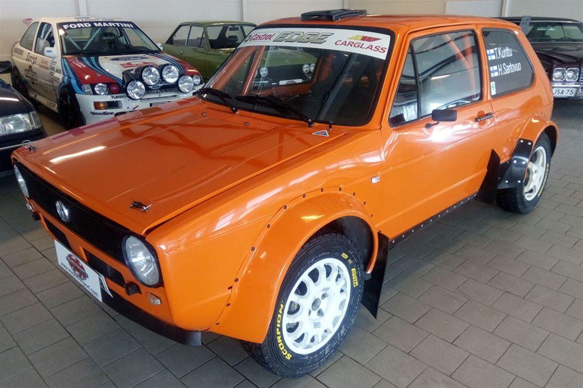 Racecarsdirect.com - Volkswagen Golf Mk1 rally car.