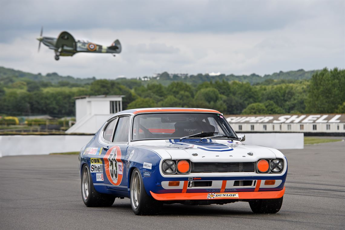 1972 Group 2 Ford Capri RS2600 - exceptional recreation (genuine RS2600 chassis)