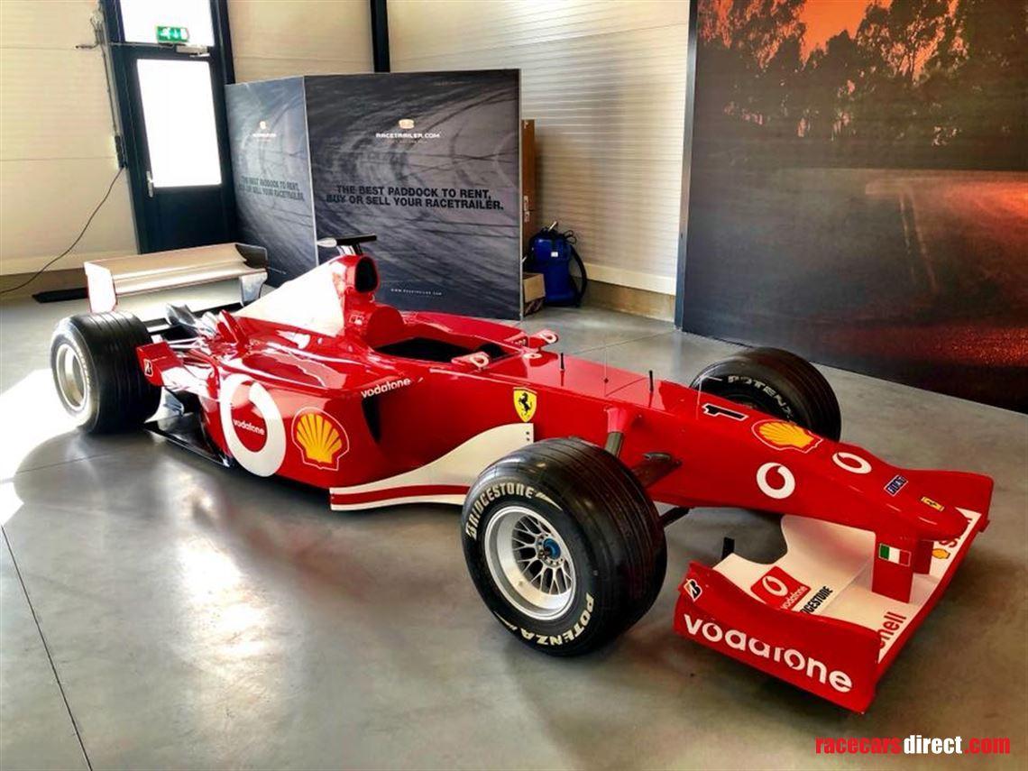 Racecarsdirect Com Ferrari F1 F2002 Show Car