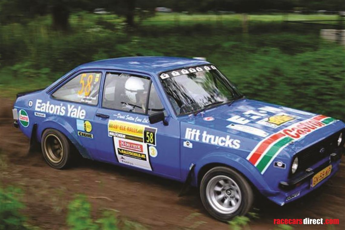 Racecarsdirect.com - Ford Escort RS 2000 MK2 Group 4 Spec