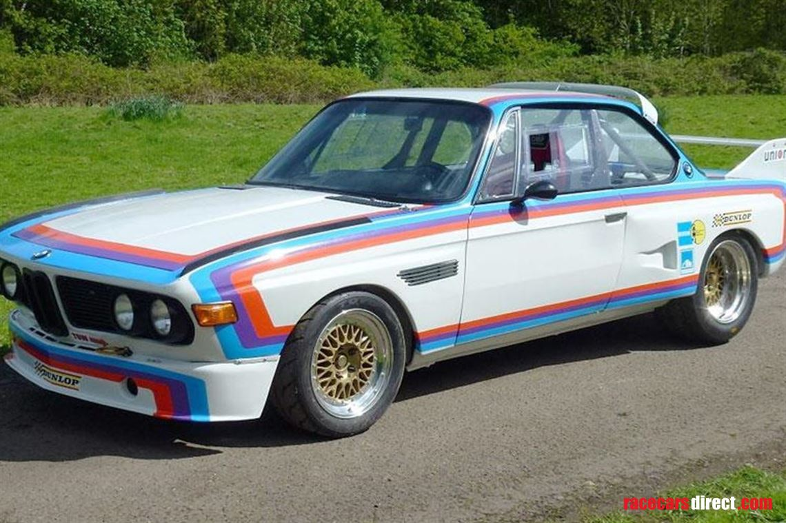 Racecarsdirect Com Bmw E9 Batmobile Race Track Road Car