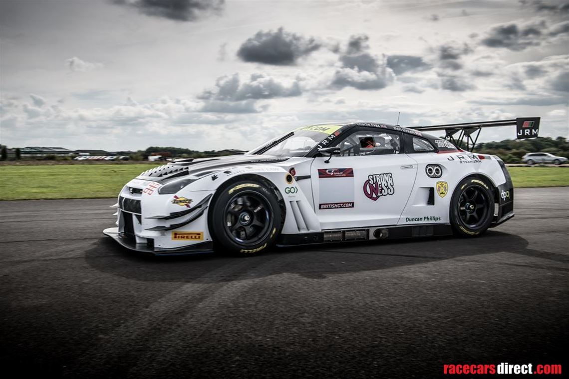 Racecarsdirect Com Nissan Gt R Nismo Gt3 Jrm Owned 1 Race From New