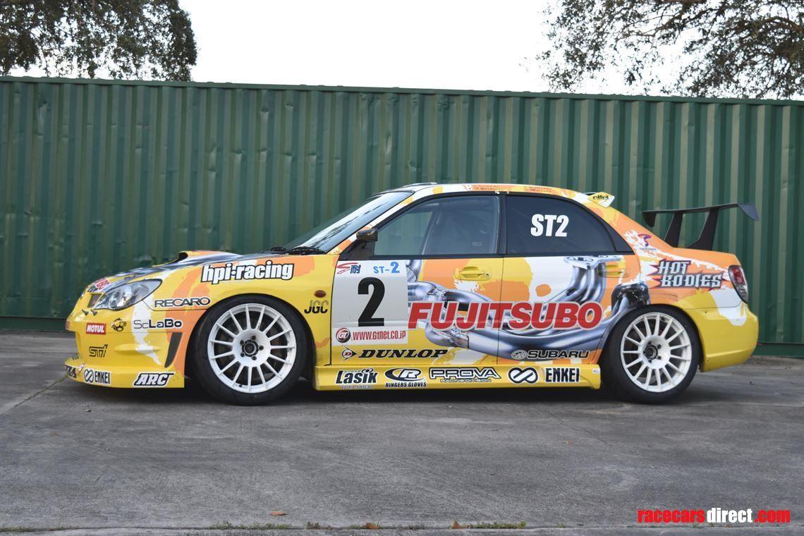 Subaru Race Car >> Racecarsdirect Com 2006 Subaru Impreza Sti Super Taikyu