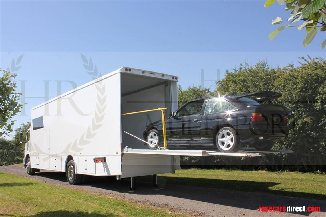 HR RT Race Transporter with 2.5T Lift and Slideout