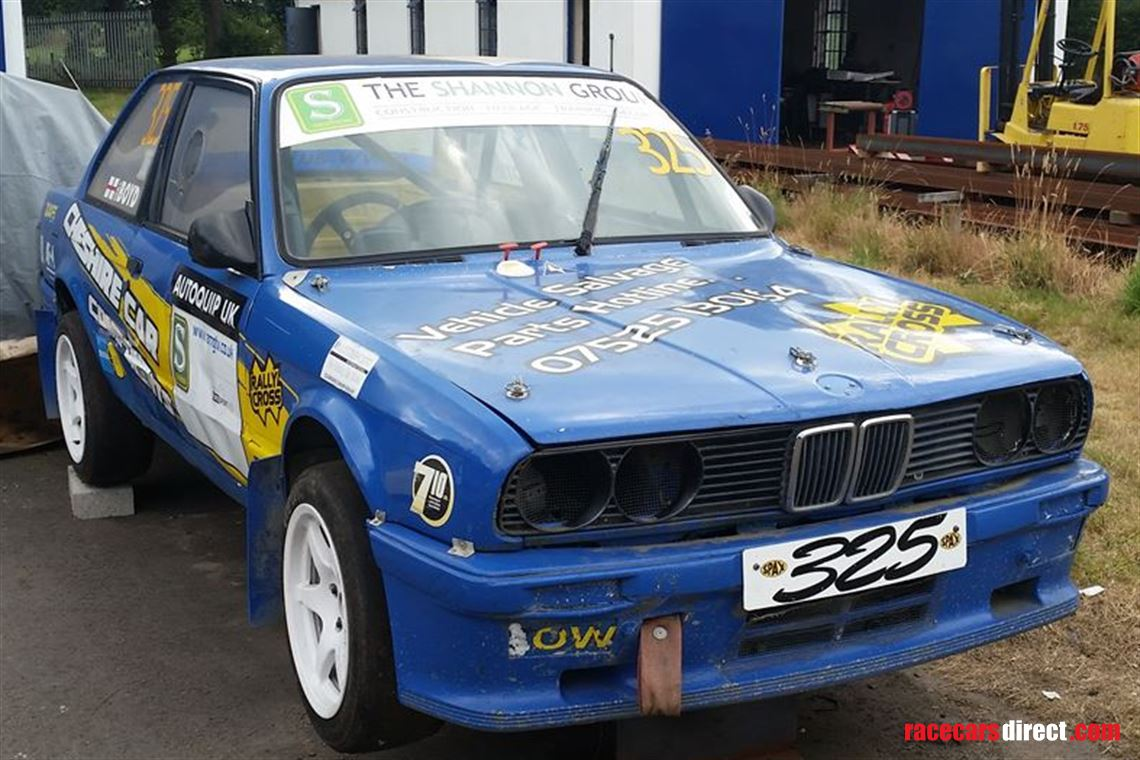 Racecarsdirect com - Top Gear Featured BMW E30 Shell And