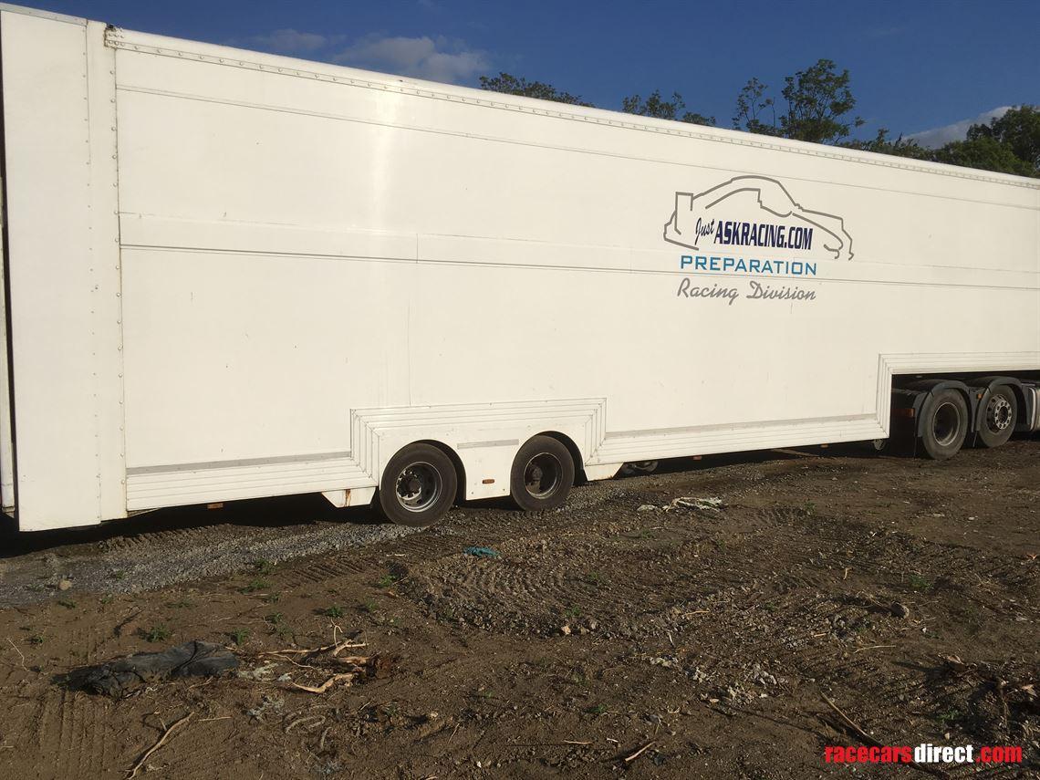 Racecarsdirect.com - 5/6 car race transporter, double deck ...